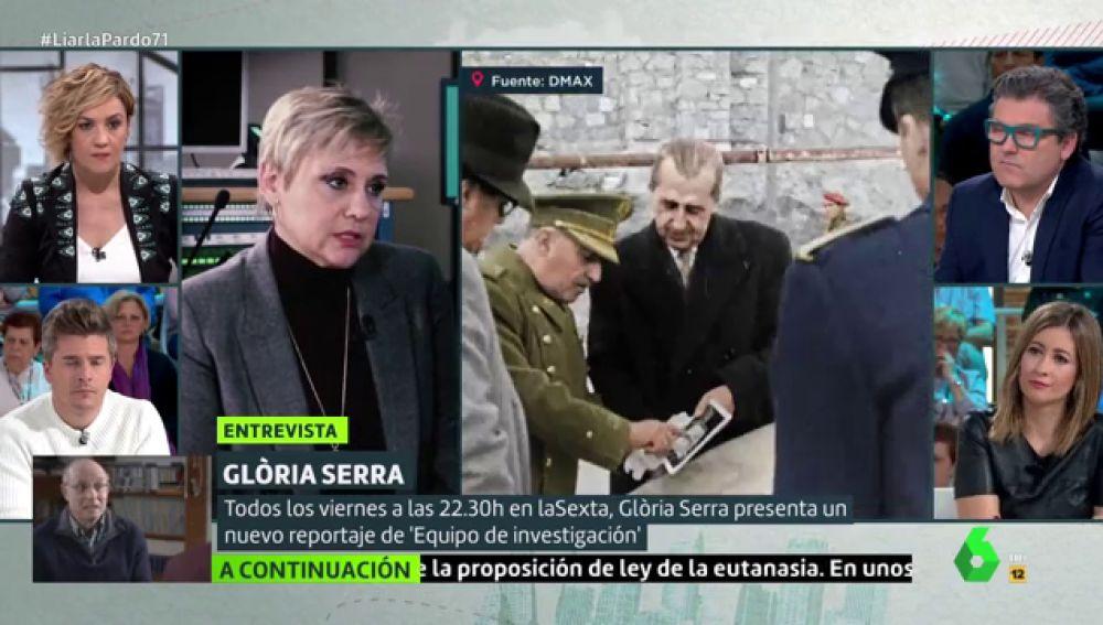 """El contundente alegato de Gloria Serra sobre la importancia de la memoria histórica: """"Yo tengo un abuelo que no sé dónde está"""""""