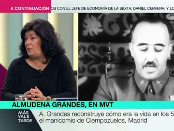 """Almudena Grandes: """"La democracia tiene una deuda con los exiliados republicanos que en vez de nacionalizarse siguieron siendo españoles hasta el final"""""""