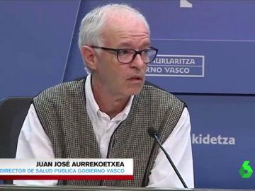 """El 'surrealista' ejemplo del director vasco de Salud Pública para """"calmar la preocupación"""" tras el derrumbe del vertedero de Zaldibar"""