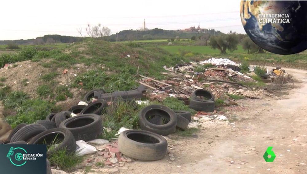Así es el 'cinturón' marrón de Madrid: la ruta de vertederos ilegales del sur de la comunidad