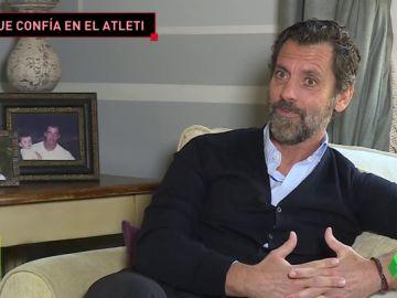 """Quique Sánchez Flores: """"No entendería la historia del Atlético de Madrid sin Simeone"""""""