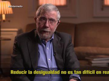"""La receta de Paul Krugman, Nobel de Economía, para acabar con la desigualdad: """"Mejores condiciones de trabajo y programas sociales sólidos"""""""