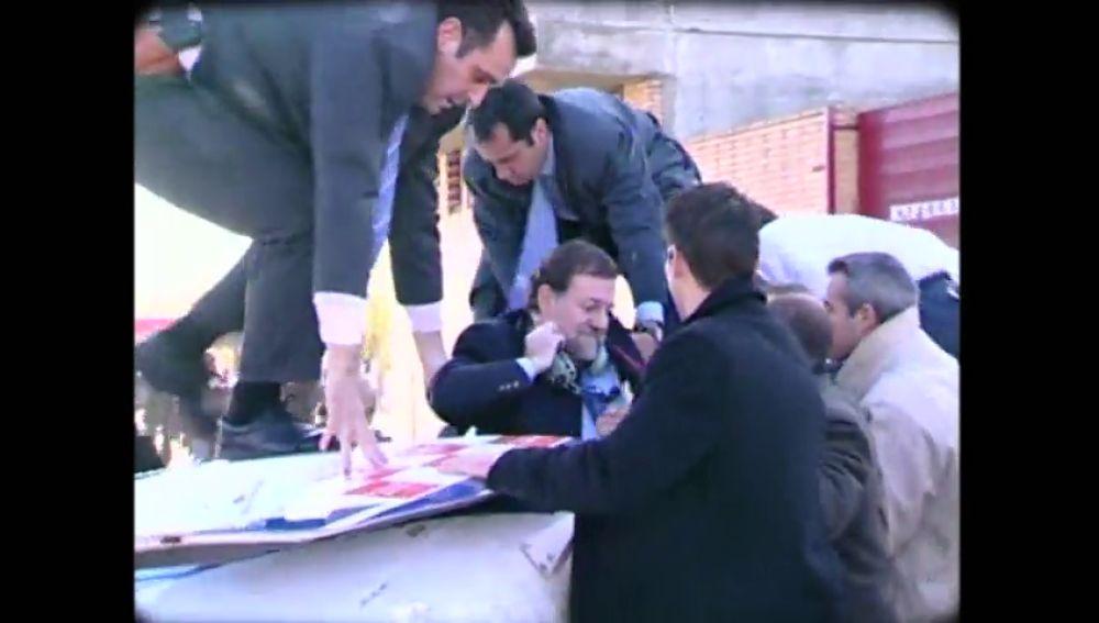 El accidente de helicóptero que casi les cuesta la vida a Mariano Rajoy y Esperanza Aguirre