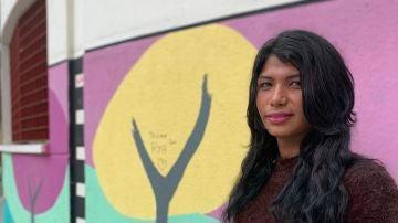 Jeisy, migrante trans que fue usuaria del piso de acogida de Kifkif