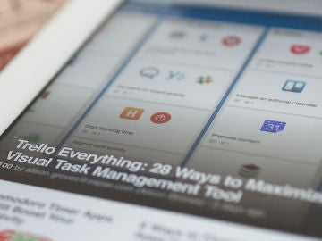 Flipboard en una tableta