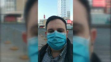 """El periplo de un español residente en China para regresar a nuestro país: """"Aquí no te hacen ningún control, pueden entrar gente con el coronavirus"""""""