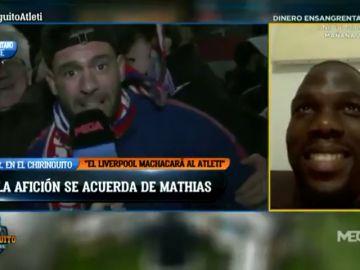 """Euforia en la afición del Atleti... con recuerdo a Mathias Pogba: """"Como pitoniso, malamente"""""""