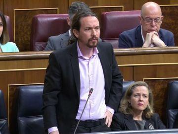 """Tenso rifirrafe entre Iglesias y Prohens en el Congreso: """"Que estemos hablando de niñas prostituidas y ustedes se descojonen dice mucho de su nivel moral"""""""