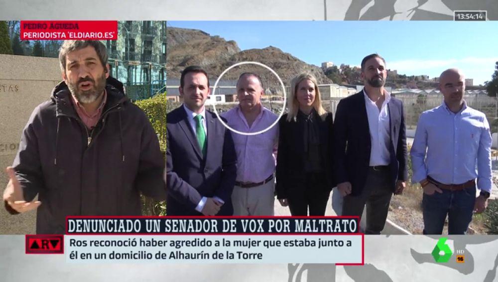El periodista de 'eldiario.es' Pedro Águeda
