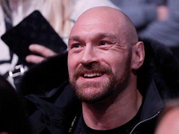 Tyson Fury, durante un acto