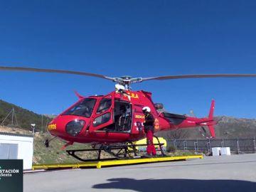 Así trabaja el Grupo Especial de Rescate en Altura en la sierra madrileña