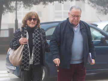 José Carlos Fernández-Cervera y Rosa Neira, padres de Deborah Fernández