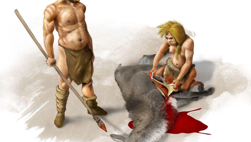 Los ancestros de neandertales y denisovanos tuvieron sexo con homininos superarcaicos