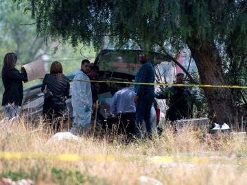 Lugar donde encontraron sin vida a una menor en Saltillo, México