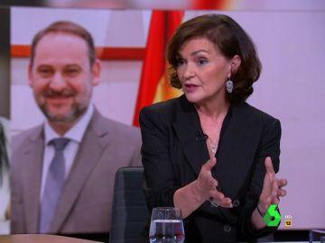 """Carmen Calvo: """"El PP cuando no gobierna lo destruye absolutamente todo"""""""