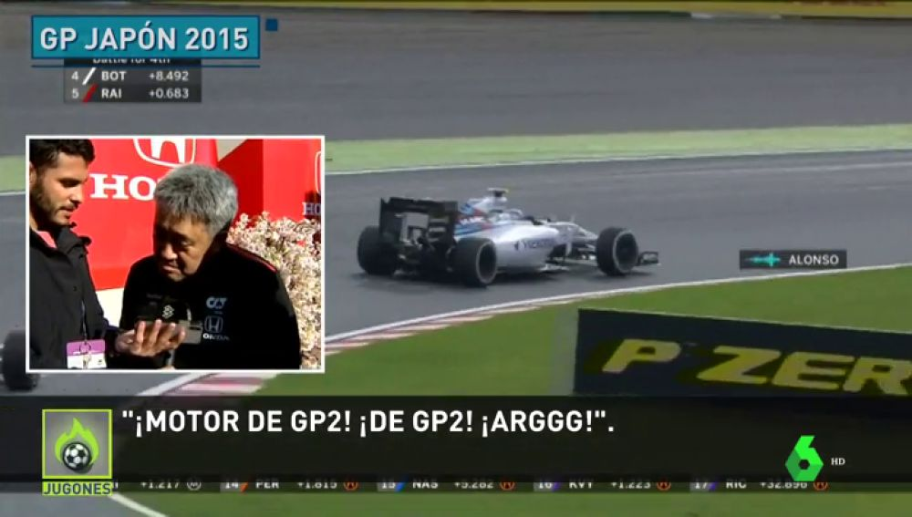 """La reacción de Honda al ver vídeo de Fernando Alonso y su famoso """"GP2 engine"""""""