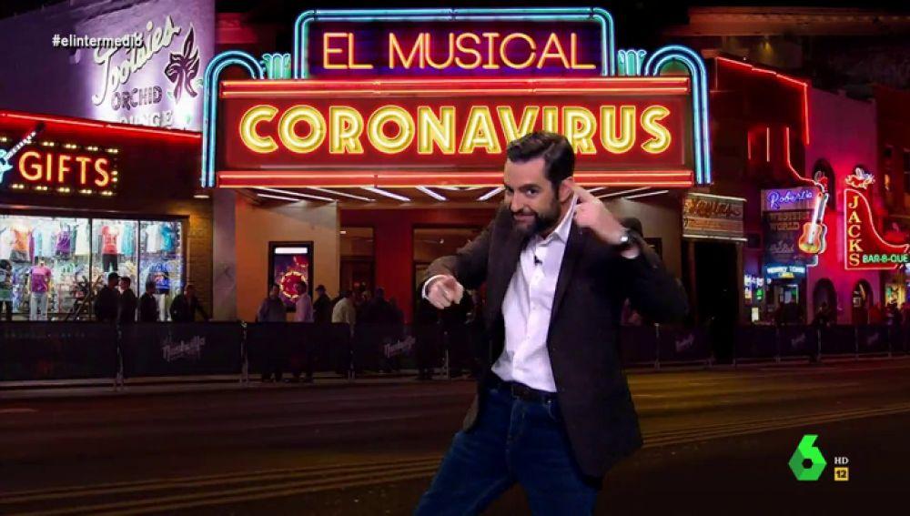 """'Coronavirus, el musical': Dani Mateo repasa los """"temazos"""" de ritmos latinos inspirados en la epidemia"""