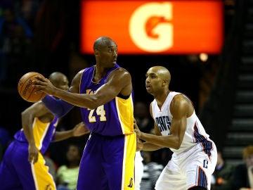 Kobe Bryant y Ben Gordon