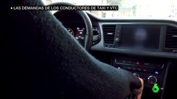 Conductor de un taxi