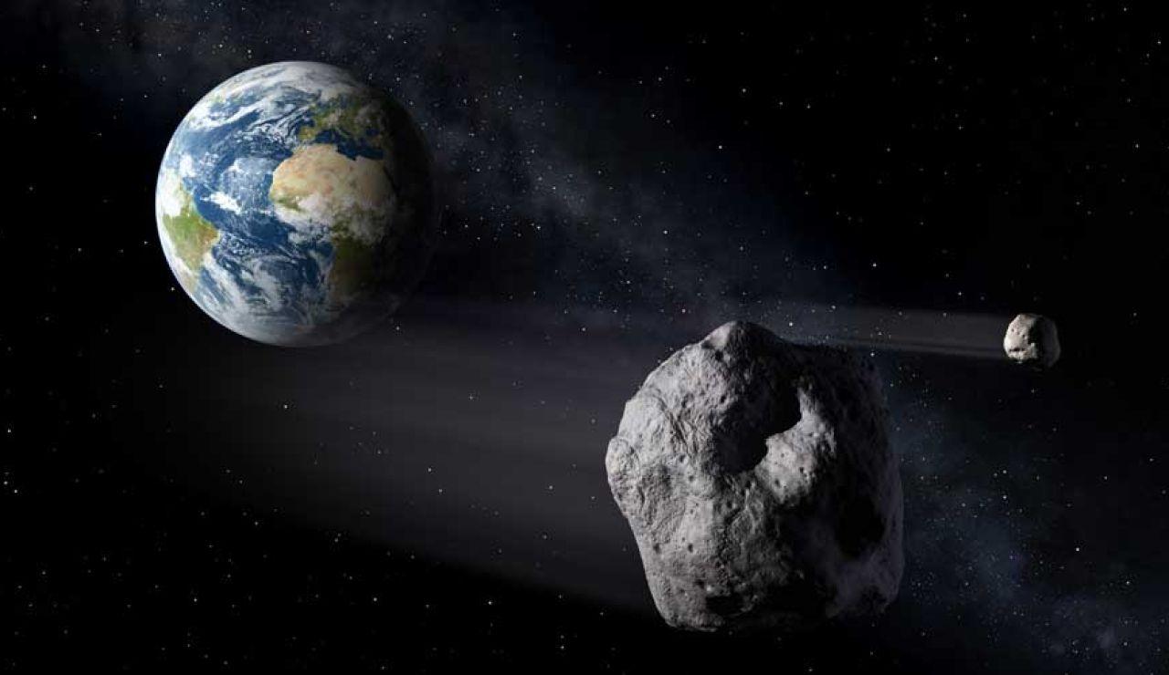 Numerosos telescopios y radares recogen desde la Tierra datos de asteroides y cometas próximos a la Tierra (NEO)