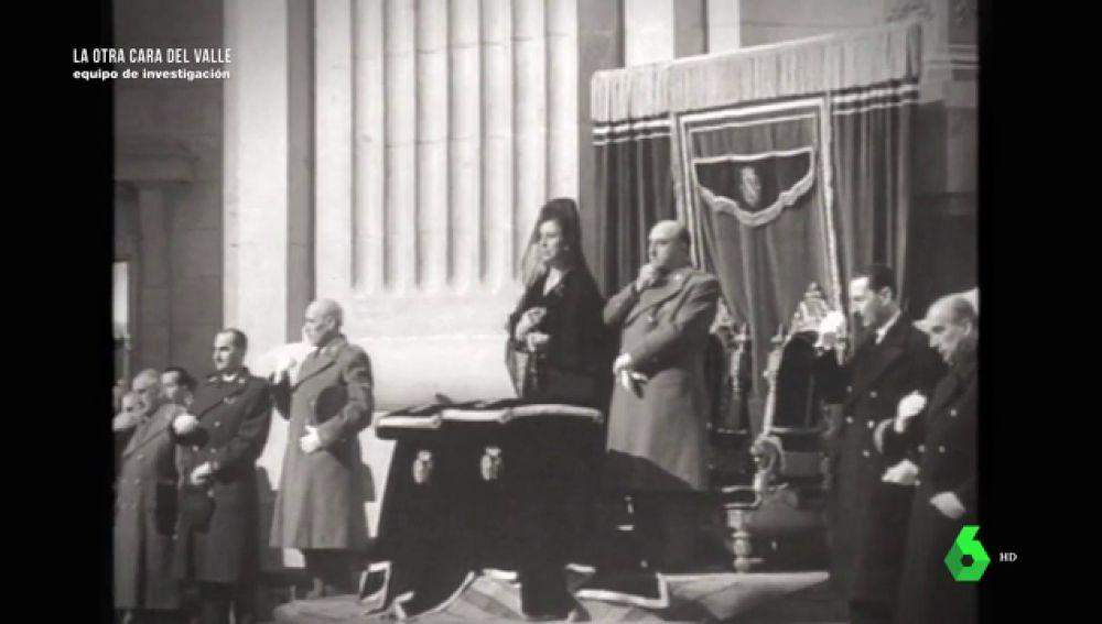 La cinta que probaría que Franco quería ser enterrado en el Valle de los Caídos