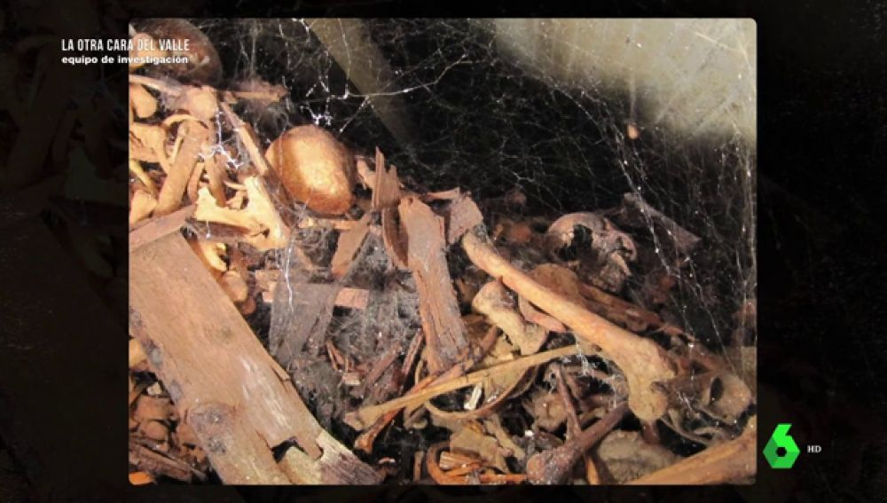 Las impactantes imágenes del interior de las criptas del Valle de los Caídos en las que se encuentran los restos de 30.000 personas