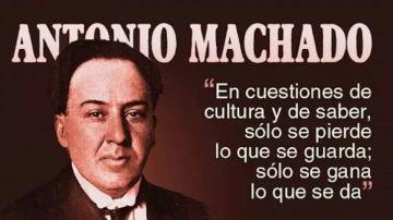 Imagen de archivo de Antonio Machado
