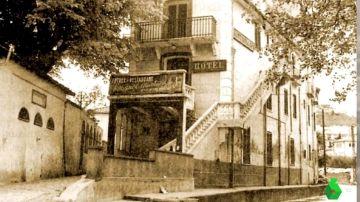 Imagen de una vivienda donde residió Antonio Machado
