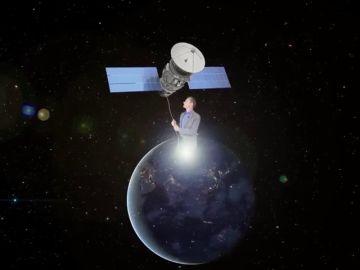 El divertido vídeo con el que el ministro Pedro Duque explica a Jorge Ponce por qué no se puede mover un satélite con una cuerda