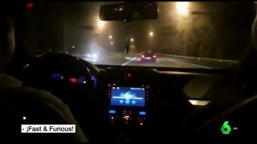 Investigan a dos jóvenes por participar en carreras ilegales: llegaron a circular a 215 kilómetros por hora