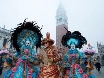 Imagen del carnaval de Venecia