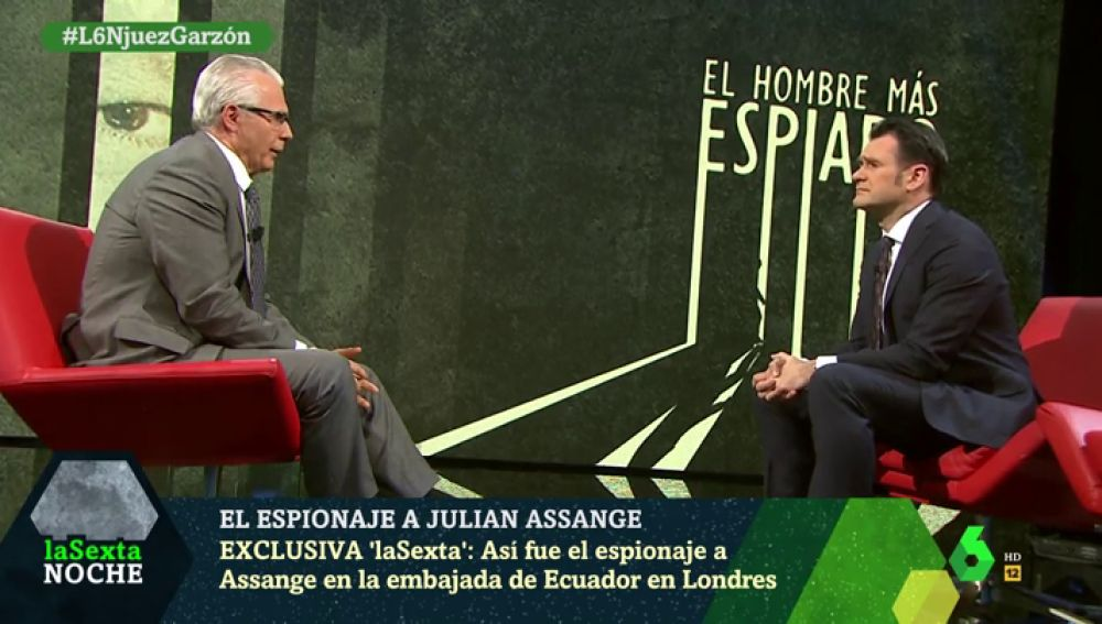 """Baltasar Garzón, sobre la defensa de Assange: """"La persecución es política, y tenemos elementos para demostrarlo"""""""