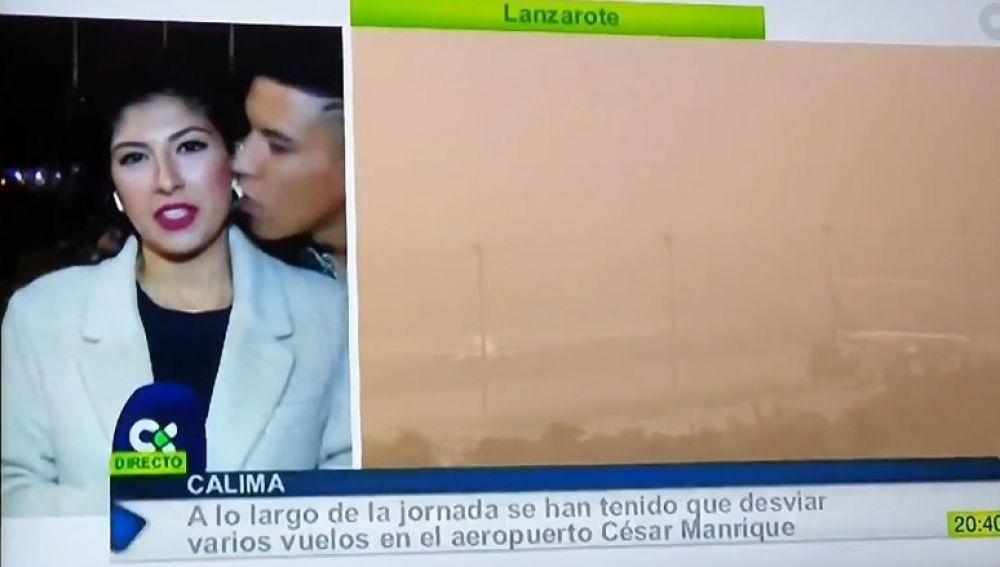 Juzgan a hombre por acosar sexualmente a una reportera en vivo — España