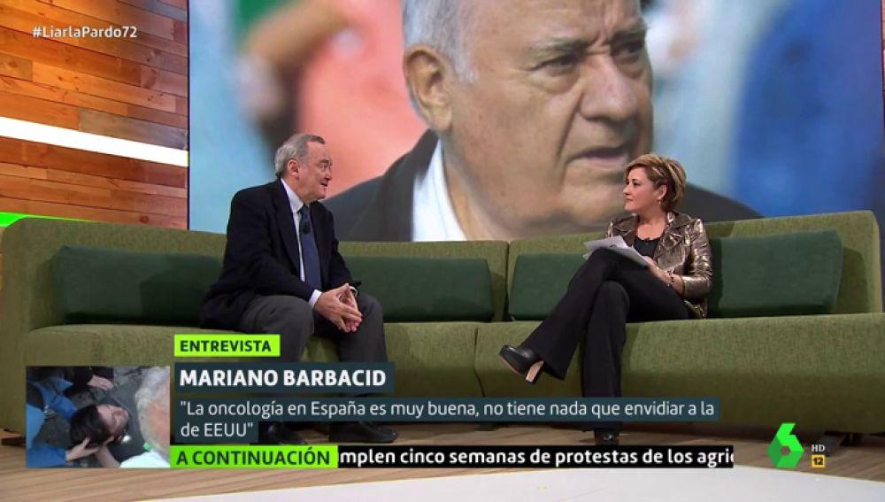 Mariano Barbacid en Liarla Pardo
