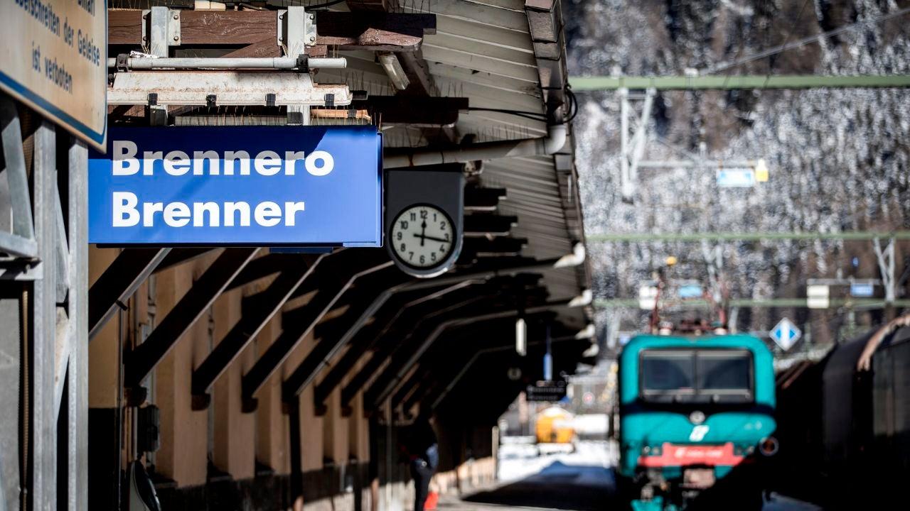 La estación de Brenner (Austria)