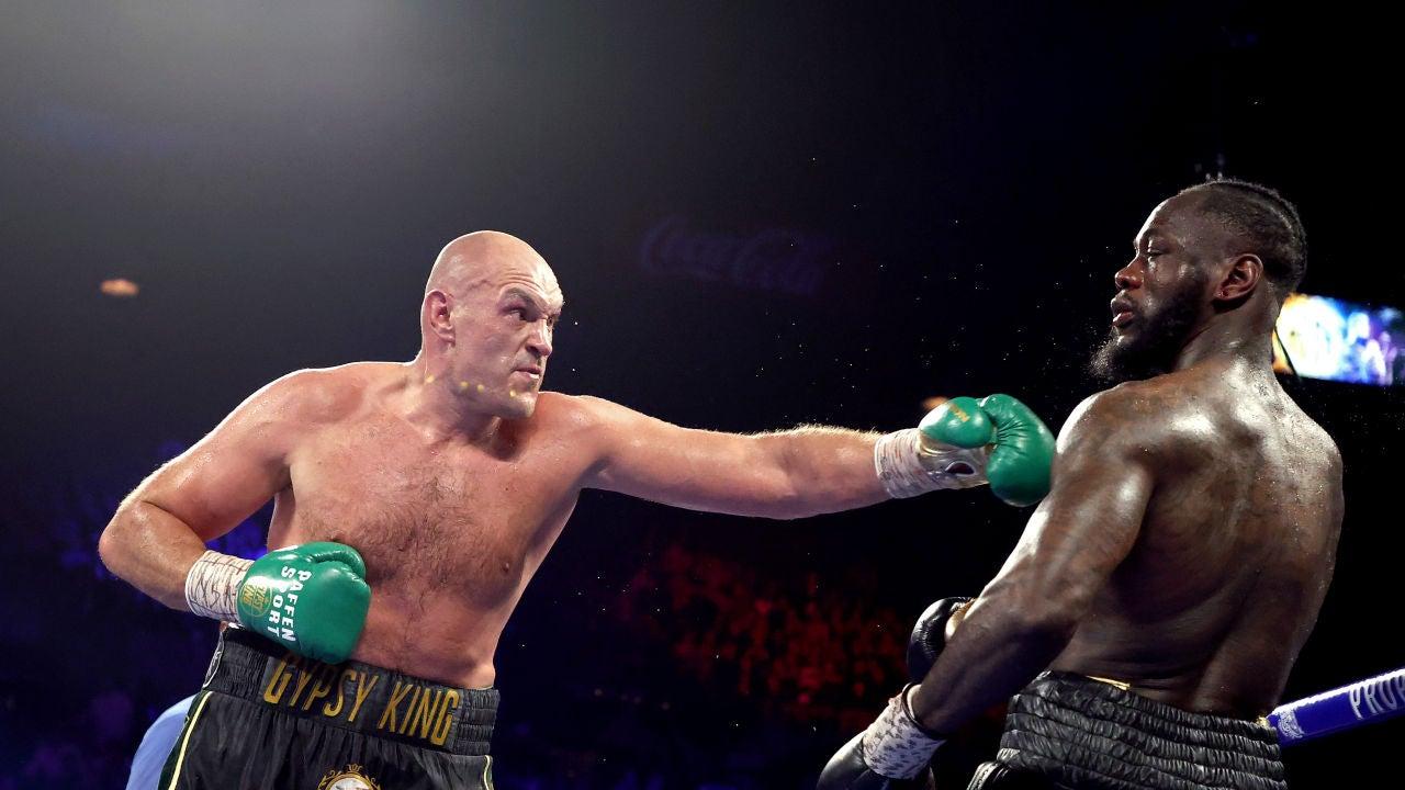 Tyson Fury frente a Deontar Wilder