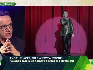 """Àngel Llàcer: """"La gente le tiene miedo a la homosexualidad, lo noto mucho"""""""