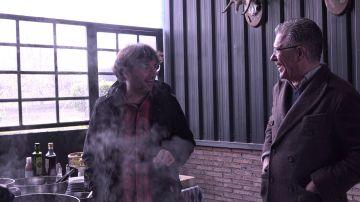 Jordi Évole y Francisco Granados