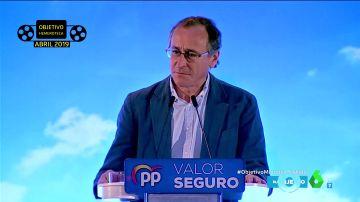 """Objetivo Hemeroteca: Alfonso Alonso, de las palabras de cariño y la """"confianza"""" con Casado a su ruptura"""