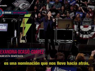 De Alexandria Ocasio a Bernie Sanders: Guillermo Fesser se adentra en el 'show electoral' de los mítines en EEUU