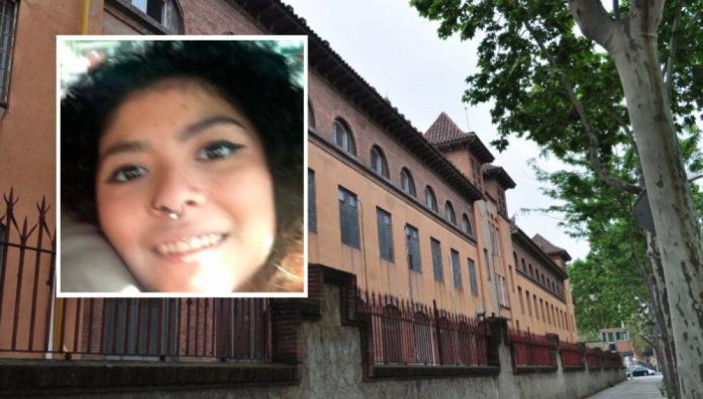Claudia Rodríguez, presa de Wad-Ras