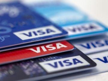 Varias tarjetas de crédito