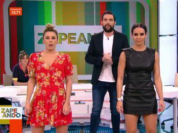 Cristina Pedroche, Valeria Ros y Dani Mateo