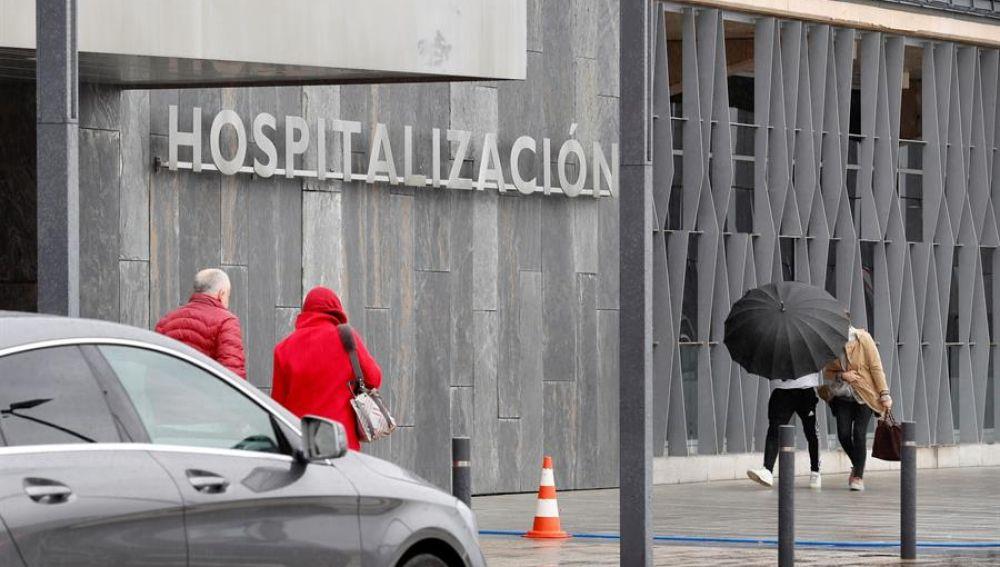 Vista del Hospital Universitario Central de Asturias