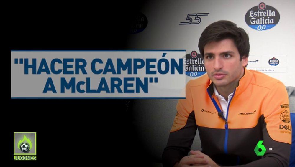 """Carlos Sainz cierra la puerta a Ferrari: """"Estoy en medio de unas primeras conversaciones con McLaren"""""""
