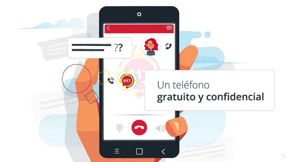 017, el teléfono de ayuda en Ciberseguridad del Gobierno de España