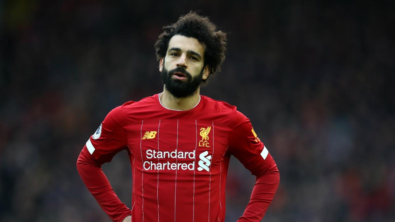 Mohamed Salah, con el Liverpool