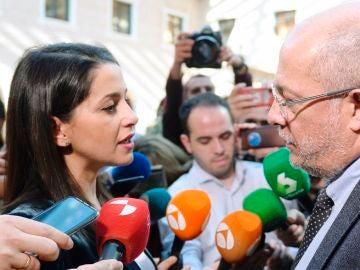 Inés Arrimadas y Francisco Igea