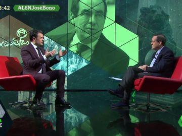 """José Bono, sobre Podemos: """"Acusaron de asesino a Felipe González y ahora están gobernando con su partido"""""""