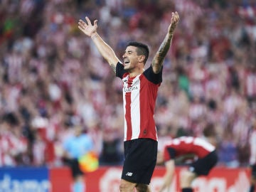 Yuri Berchiche, con el Athletic